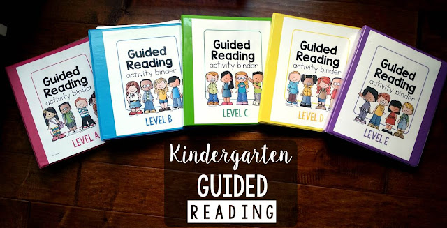 guided reading in kindergarten