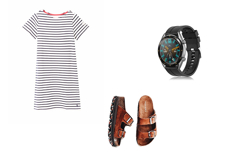 outfits con relojes inteligentes