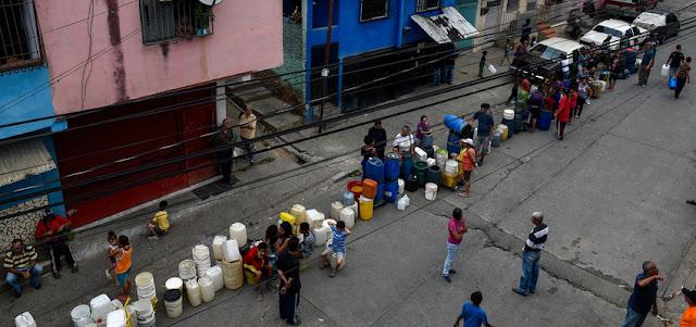 OVSP: solo 23% de la población recibe agua a diario y 12% vive en sequía total