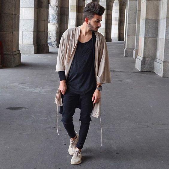 Look Masculino com Kimono