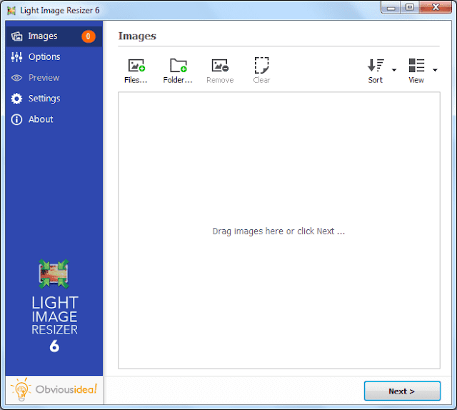 Screenshot Light Image Resizer 6.0.0.14 Full Version