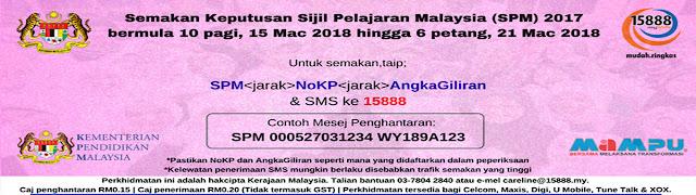 Semakan Keputusan SPM 2018 (Terkini)