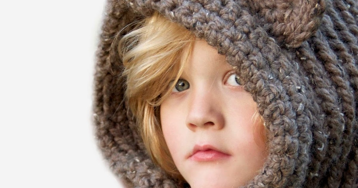 Pretty Darn Adorable Crochet Crochet Hooded Bear Cowl Pattern