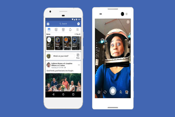 فيسبوك تختبر إضافة جديدة لميزة القصص