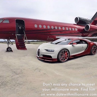 The world's most expensive luxury sports car Bugatti Veyron and luxury private jet is a symbol of the millionaire noble, we also see that he loves red.