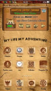 Tema My Life My Adventure Oppo