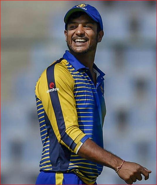 mayank agarwal cricketer photo