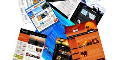 Panduan Menggunakan Template Blog - Ganti, Edit, Setting