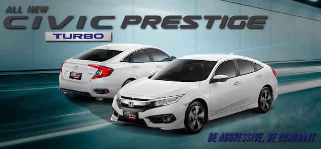Honda Civic Prestige Turbo
