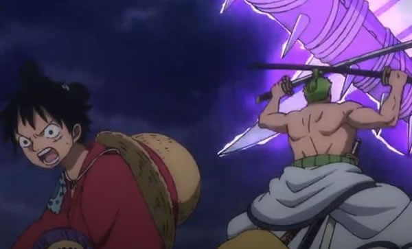 One Piece Episodio 899