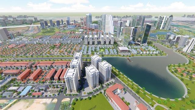 Phối cảnh khu đô thị Thanh Hà Cienco 5