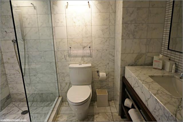 Baño del Kimpton Hotel Eventi, Nueva York