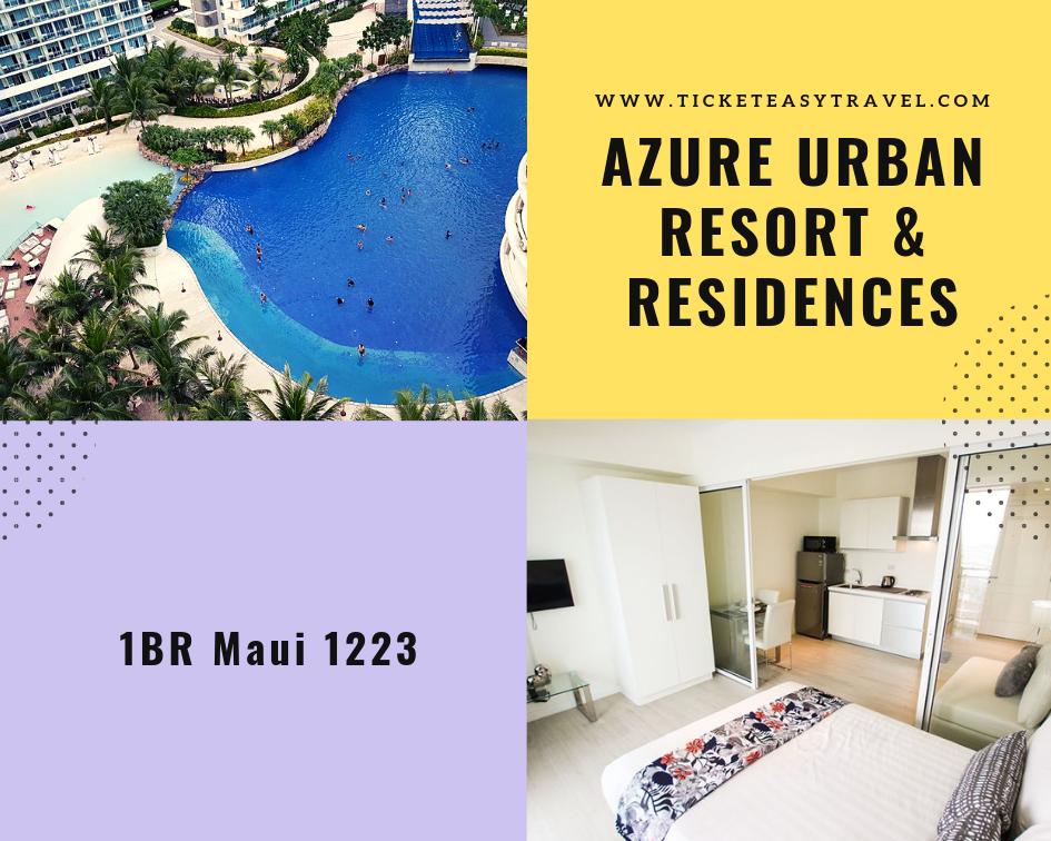 The Azure Urban Resort & Residences Staycation (1BR Maui 1223)