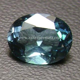 Batu Permata Blue Topaz - ZP 428