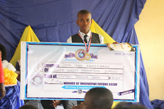 1st Place Senior Category Innovative Future Essay Writing Competition 2017