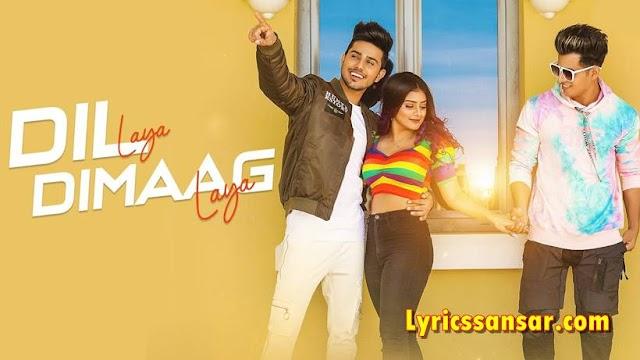 Dil Laya Dimaag Laya दिल लाया, दिमाग लाया Lyrics - Stebin Ben | Anam Darbar, Sunny Chopra