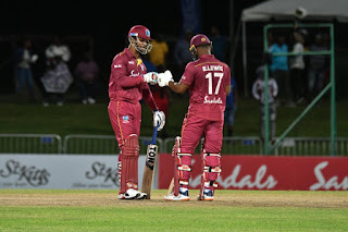 Lendl Simmons 91* - West Indies vs Ireland 3rd T20I 2020 Highlights