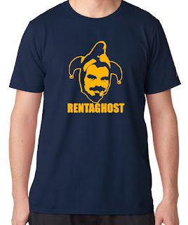 APR 7 - RENTAGHOST T-SHIRTS - Forget Ghostbusters tees, these are much cooler!