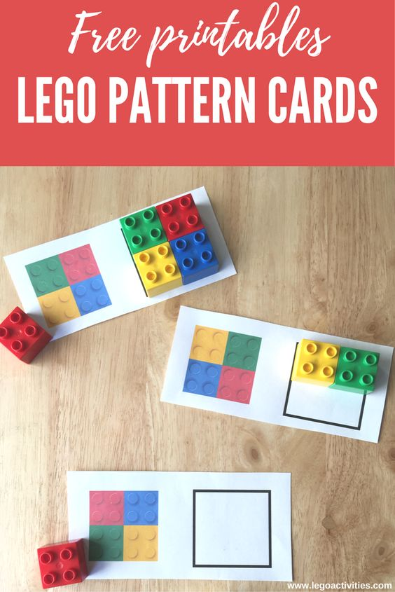LEGO Pattern Cards