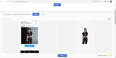 Cara Membuat Background Transparan Online