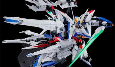 MG 1/100 Eclipse Gundam Maneuver Striker Pack Official Images