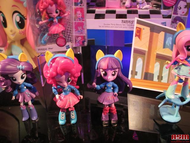 Equestria Girls Mini Toy Fair 2016 Pinkie Rarity Twilight