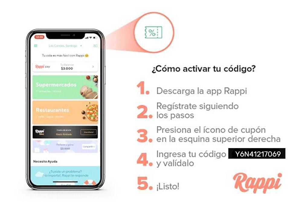Promociones de Rappi
