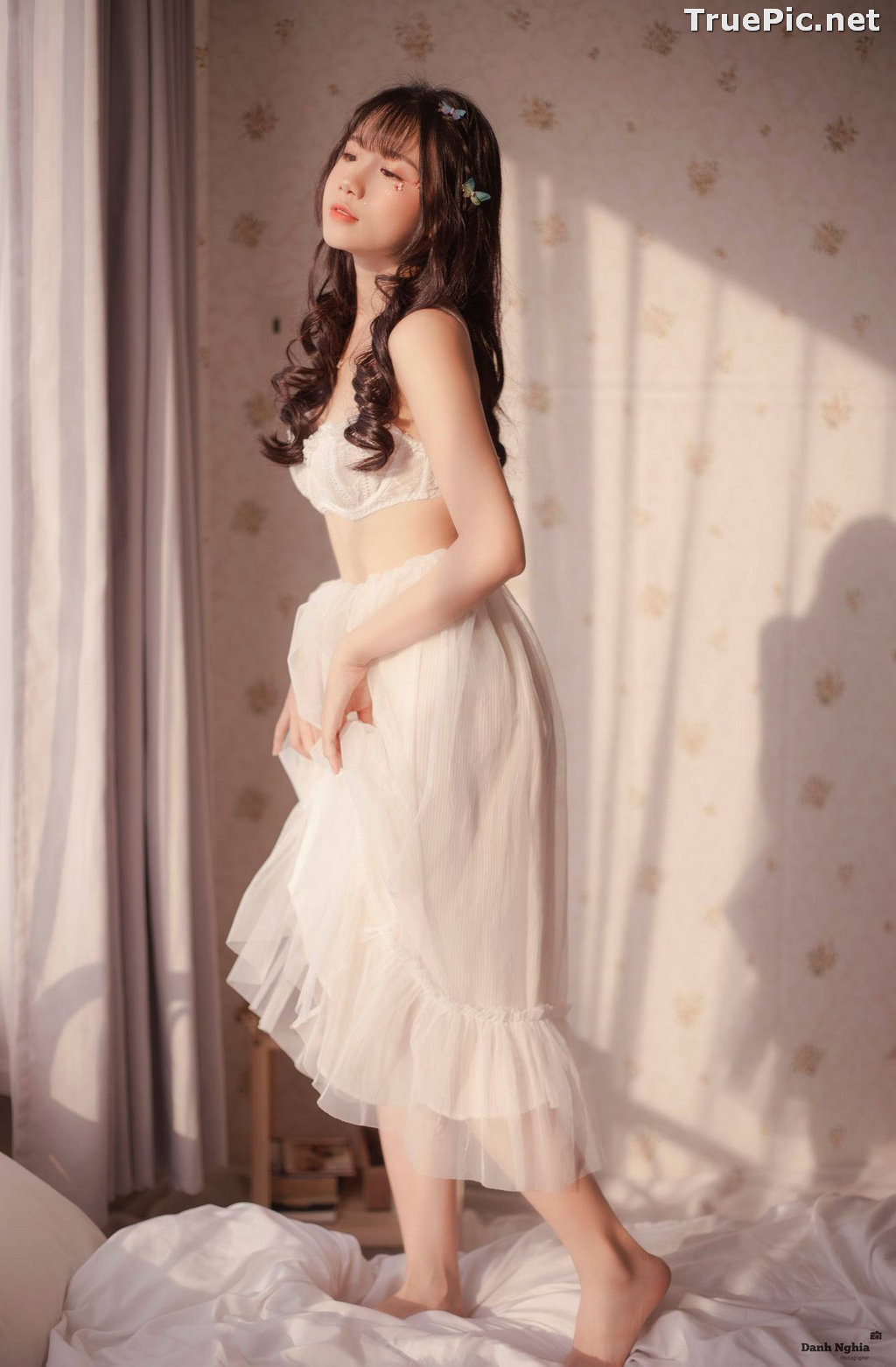 Image Vietnamese Cute Girl - Tran Thi Anh Thu - Beautiful White Butterfly - TruePic.net - Picture-5