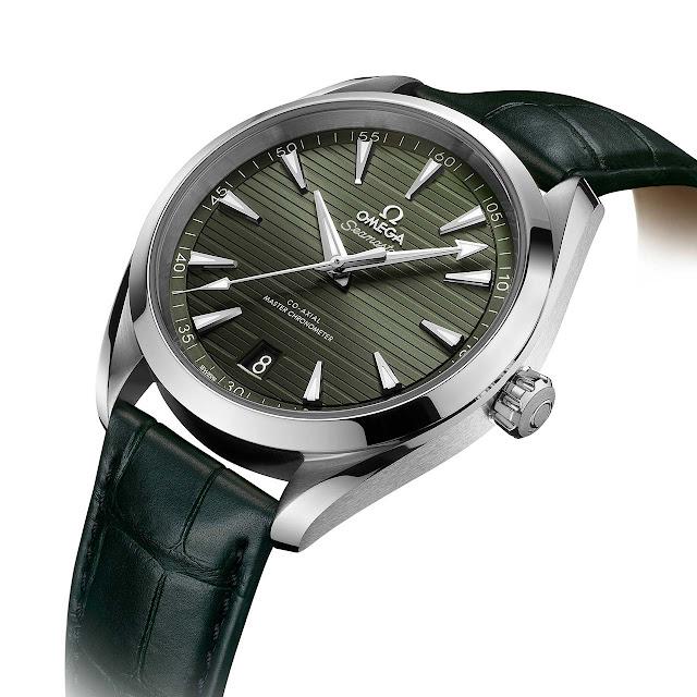 Omega Seamaster Aqua Terra, green dial (ref. 220.10.41.21.10.001)