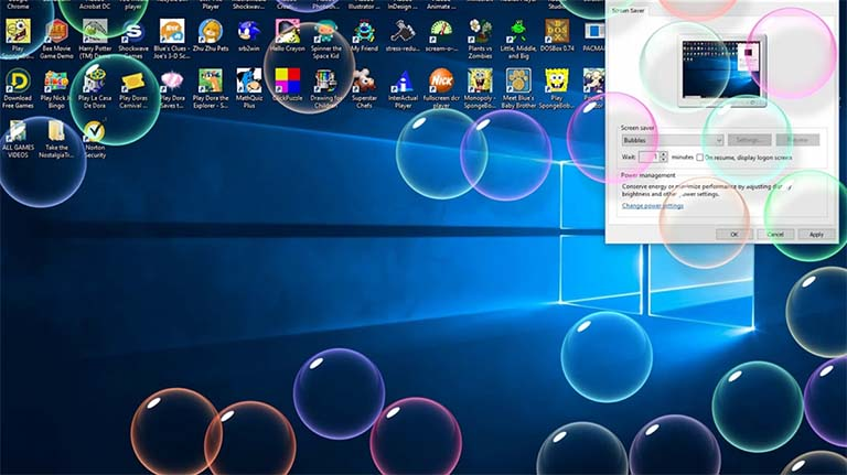 Mengatasi Screensaver Tidak Berfungsi Di Laptop Windows 10