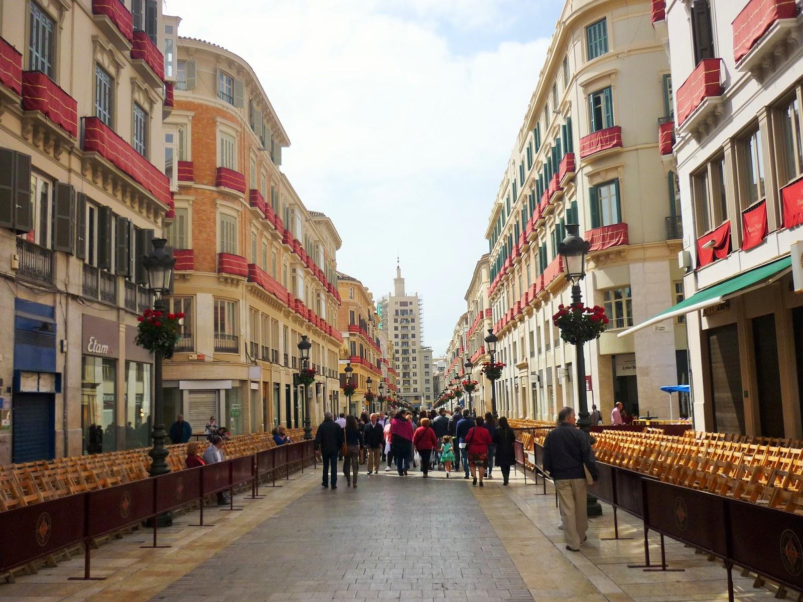 Malaga - Espagne - Calle Larios