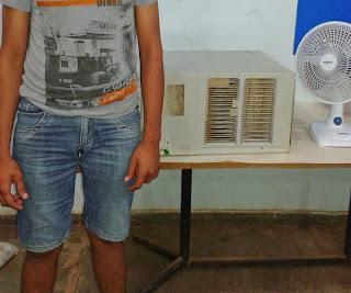 4ª CIPM (CPI) deteve homem acusado de furto no município de Lábrea