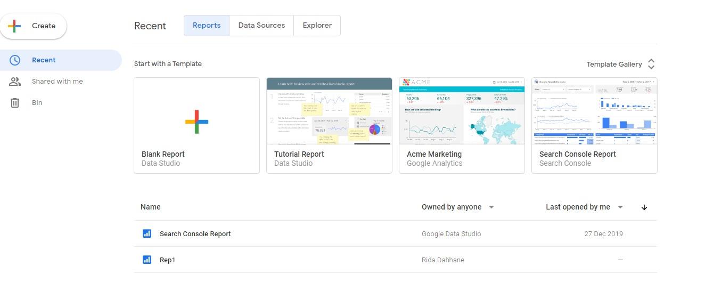 كل ما تحتاج معرفته عن منصة Google Data Studio