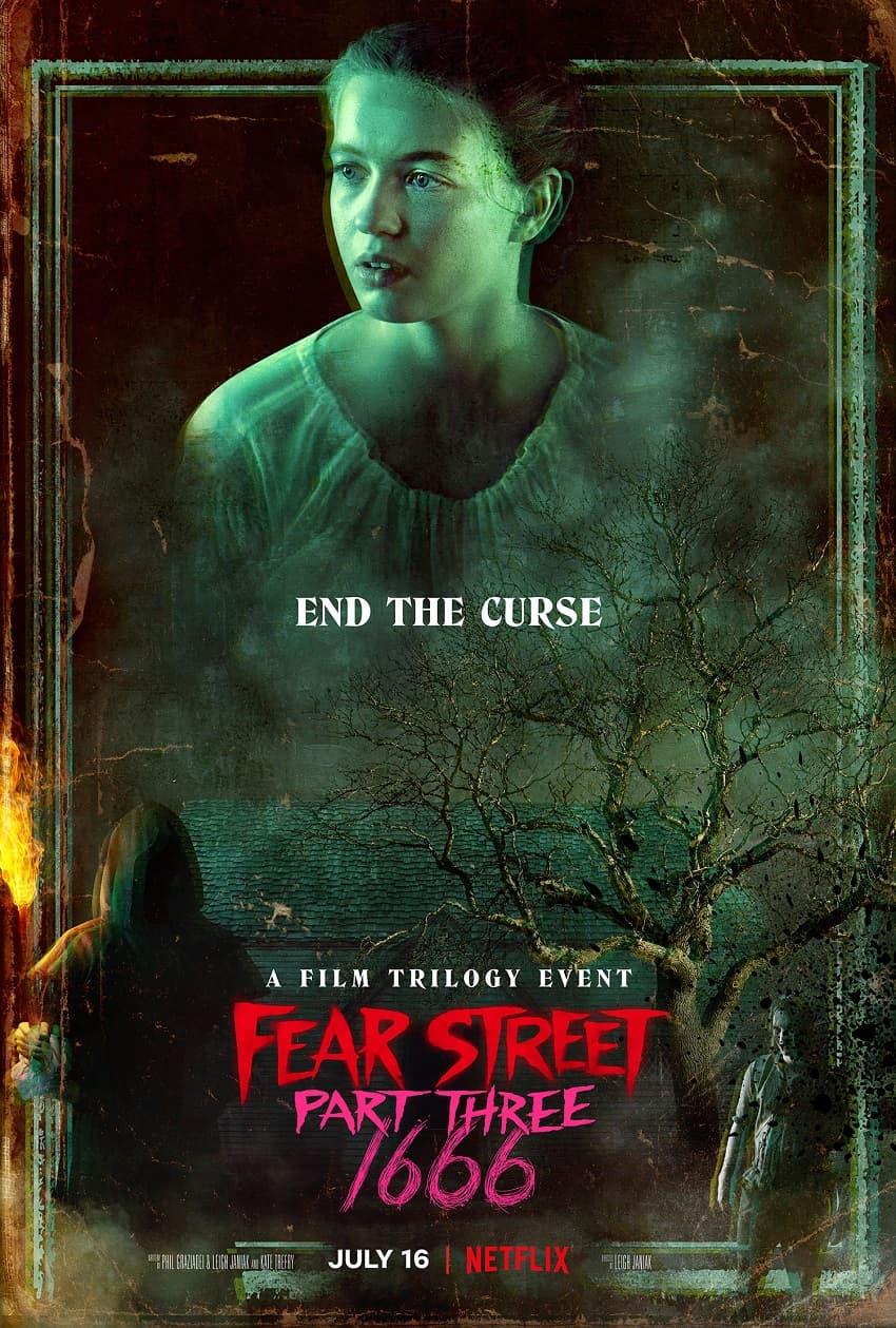 Netflix показал трейлер хоррора «Улица страха: 1666» - Постер