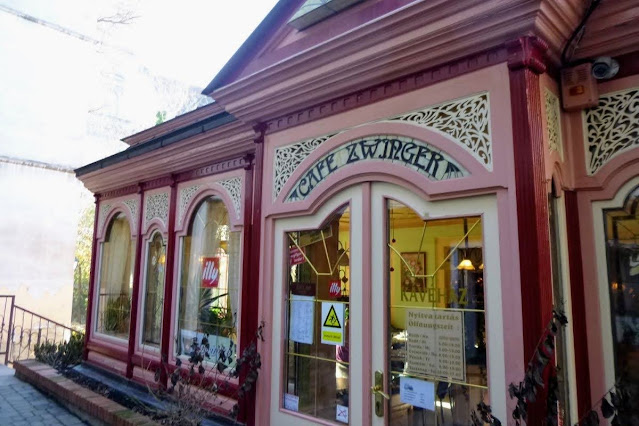 Day trip from Vienna in December: Cafe Zwinger in Sopron Hungary