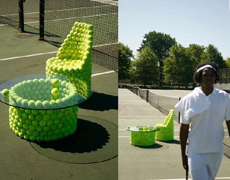 Ideas para reciclar pelotas muebles y - Ideas para reciclar muebles ...