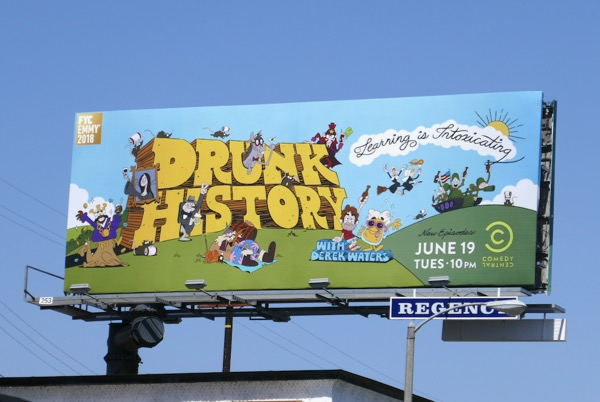 Drunk History season 5 Emmy FYC billboard
