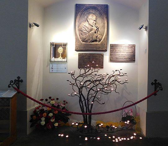Kaplica św. Jana Pawła II.