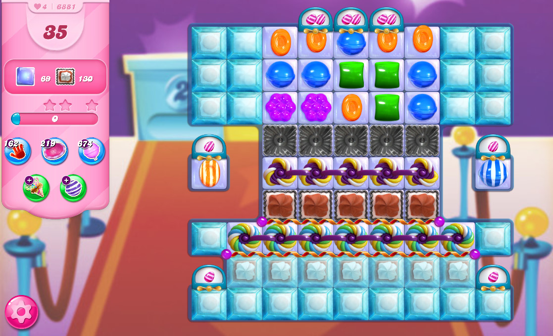 Candy Crush Saga level 6881