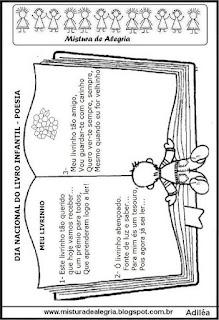 Atividades sobre o dia do livro infantil