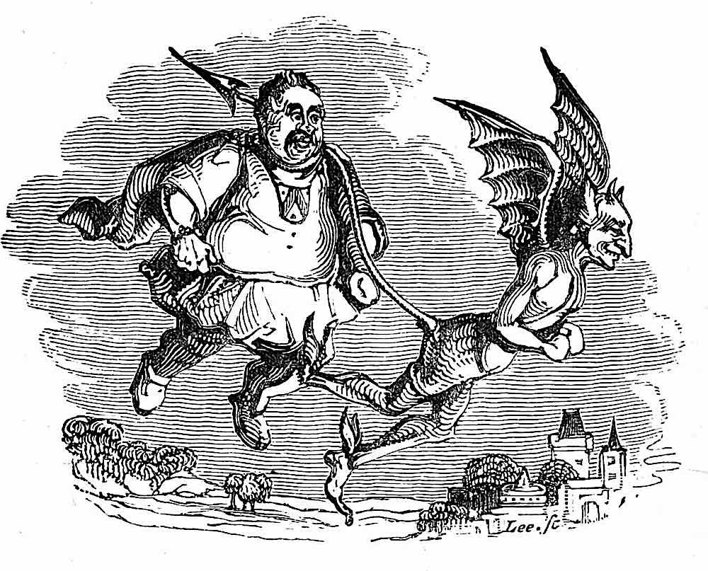 William Makepeace Thackeray, a man happily led by a demon
