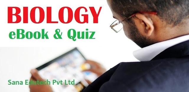 تنزيل تطبيق Biology Quiz & eBook  كتاب علم الأحياء وبرنامج الاختبار لنظام الاندرويد