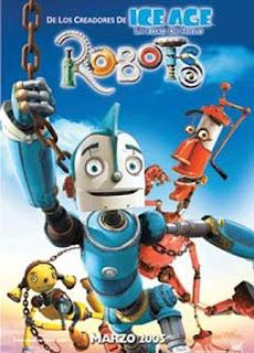 Otra versión del cartel de la película Robots