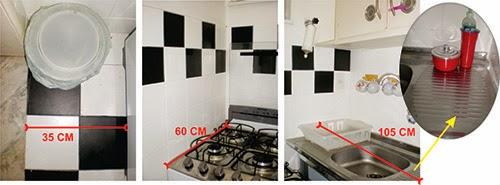 otimizar espaço, cozinha pequena, escorredor