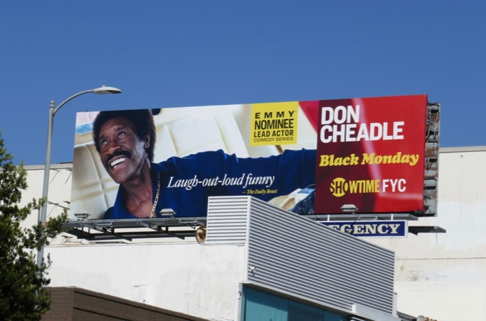 Don Cheadle Black Monday season 1 Emmy nominee billboard