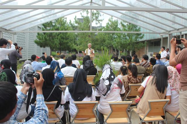 KodimKaranganyar - Peresmian Rumah Atsiri Oleh Gubernur Jateng