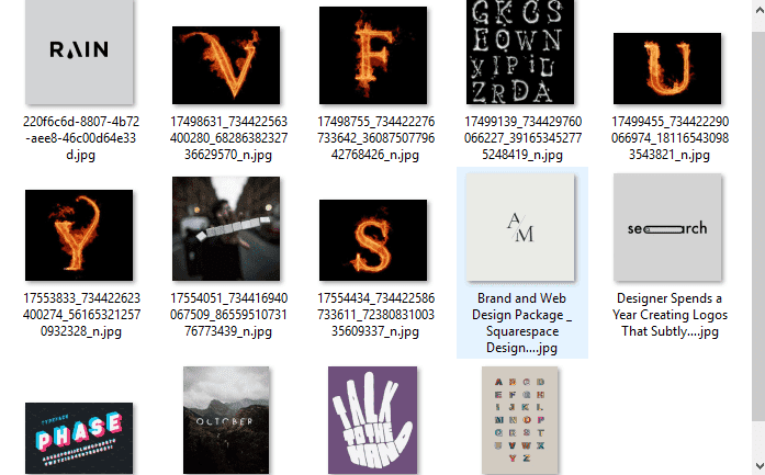 Mentahan Tulisan & Typography