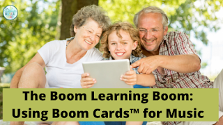 Using BoomCards in the music classroom for distance learning