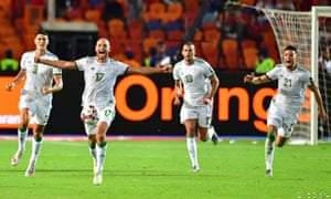 Algeria Hold on Against Senegal to Win AFCON; Wach the Highlights