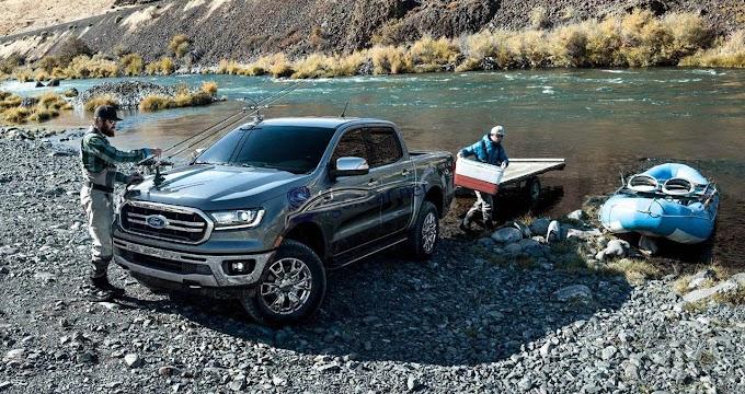 Xe bán tải Mỹ Ford Ranger 2019 và Chevrolet Colorado 2019 thống trị phân khúc